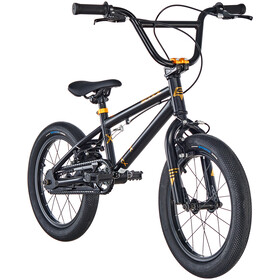 s'cool XtriX mini 16 Kinderen, black/gold matt